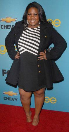 #Amber Riley #Glee