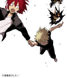 Boku no Hero Academia || Bakugou Katsuki, Kirishima Eijirou