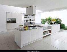 nice Gozalici beyaz mutfak tasarimlari 2016