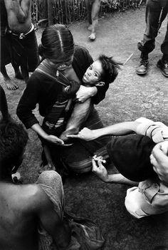 James Karales, Montagnard camp near Pleiku, South Vietnam, 1963