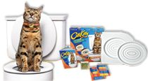 CitiKitty® Patented Cat Toilet Training Kit - Ditch your dirty litter box with CitiKitty. Never buy or scoop cat litter again. CitiKitty toilet trains cats.