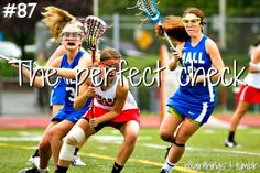 Reason to play lacrosse: the perfect check Lacrosse Sport, Lacrosse Quotes, Girls Lacrosse, Basketball Quotes, Basketball Drills, Women's Basketball, Sports Scores, Tumblr, Field Hockey