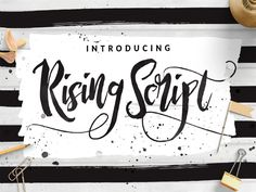 Rising is a modern and exciting free font script for design, film covers, apparel, cards, logos, posters, and more. We share a great free font for business website for you. Don't miss!