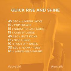 Rise & Shine @zovafit workout workout motivation,  fitspo  #orange,  girl  #healthy -  workout -  fitness,  #healthspo