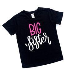 3ce9629b Big Sister Shirt. New Big Sister Gifts, Big Sister T Shirt, Sister Shirts,  Kids ...