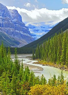 Along the Icefields Parkway, Alberta, Canada All Nature, Amazing Nature, Banff National Park, National Parks, Places To Travel, Places To See, Beautiful World, Beautiful Places, Foto Picture