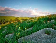 jim richardson photography great plains | James Nedresky 's photo of Kansas's Flint Hills, late spring