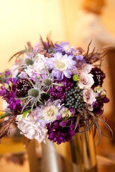 Purple-Rose-Scabiosa-Bridal-Bouquet-Philadelphia-Wedding