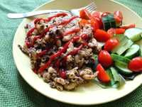 Makaronilaatikko Tasty, Yummy Food, Beef, Vegan, Baking, Recipes, Meat, Delicious Food, Bakken