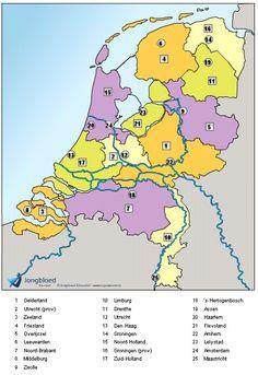 Topografie van Nederland oefenen Learning Games, Kids Learning, Biology For Kids, Dutch Language, Letter J, School Hacks, Kids House, Life Skills, Diy For Kids