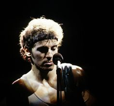 "thewildandthedarkness: ""Bruce Springsteen by Lynn Goldsmith """