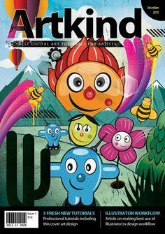 The Great Examples of Magazine Cover Design Tutorials | ColorLava
