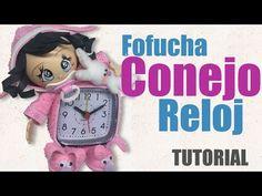 Rabbit Watch, Baby Face, Spiral Art, Lalaloopsy, Diy And Crafts, Clock, Teddy Bear, Dolls, Youtube