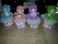 Care bear baby shower