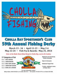 59th Annual Fishing Derby - CBSC