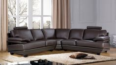 Stylish Design Furniture - Baron Leather Sectional Sofa with Headrests, $2,250.00 (http://www.stylishdesignfurniture.com/products/baron-leather-sectional-sofa-with-headrests.html)