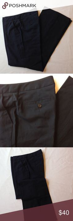 Banana Republic Martin Fit Pant Navy blue Martin fit lightweight wool pant. Fully lined, size 4. Pair these with the matching blazer in my closet. Banana Republic Pants Trousers