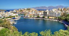 Learn more about Crete (Aghios Nikolaos), Greece, a port offered on Greece cruises. Greece Cruise, Heraklion, Cruise Port, Beautiful Islands, Trip Planning, Places To See, To Go, River, Outdoor