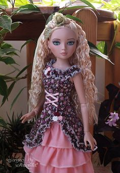 Outfit  Sweet Lolita Dress  Fashion for Ellowyne by Scratkadolls