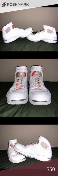 Buy Nike Men's Air Zoom Huarache 2K4 WhiteRedMetalic