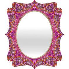 Aimee St Hill Farah Blush Quatrefoil Mirror | DENY Designs Home Accessories
