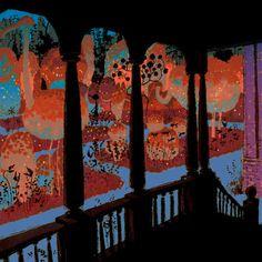 Living Lines Library: Coraline - Visual Development Coraline Movie, Coraline Art, Environment Concept Art, Environment Design, Storyboard, Illustrations, Illustration Art, Dragons, Laika Studios