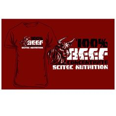 #Scitec nutrition beef concentrate t shirt #casual sport leisure gym #bodybuildin,  View more on the LINK: 	http://www.zeppy.io/product/gb/2/400882036094/