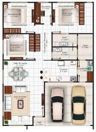 """Casa """"Goiania"""" com 3 quartos, suite e closet, escritorio, 2 ..."""