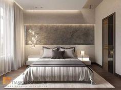 "Photo of the bedroom interior from the project ""Bedroom"" - Trend Home Dekor Modern Master Bedroom, Minimalist Bedroom, Contemporary Bedroom, Home Bedroom, Bedroom Decor, Bedroom Ideas, Luxury Bedroom Design, Master Bedroom Design, Room Interior"
