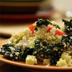 Kale, Quinoa and Avocado Salad @ allrecipes.com.au