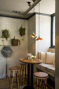 La Tulipe. Ambiente de bistró francés en el corazón del barrio de Salamanca.: