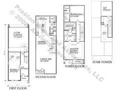 Baltimore Row House Floor Plan Architecture Interior