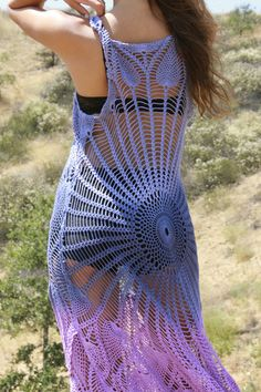 Festival Flower Honeywood Original Crochet Maxi Dress