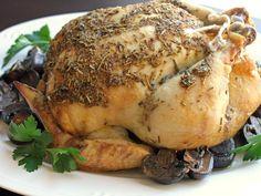 Whole Crock Pot Chicken