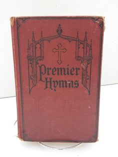 Vintage Hymnal Copyright 1926Vintage by acollectedhome on Etsy