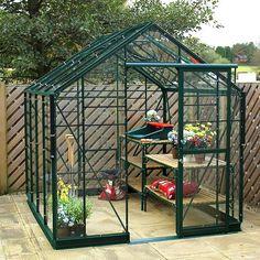 Robinsons renaissance octagonal greenhouse corner bar for Octagonal greenhouse plans
