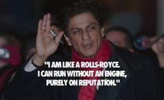 Photo of king of bollywood industry Shahrukh khan on reputation