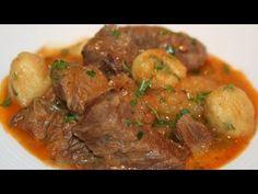 Estofado de Carne con Patatas y Guisantes - YouTube