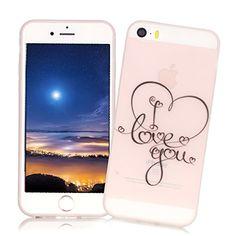 f51fabbafd7b XiaoXiMi Coque Lumineux pour iPhone 6 6S Housse Souple de Protection Etui  en Gel TPU Soft Clear Silicone Case Cover Coque Ultra Mince Poids Léger  Housse ...