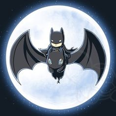 Batman on toothless