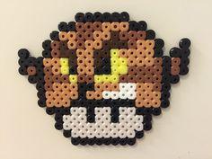 Wolfman mushroom perler beads by Bjrnbr - Björn Börjesson perler,hama,square pegboard,video games,nintendo, super mario bros,mushroom,