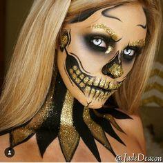 Fabulous Halloween makeup