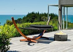 Max and relax in the great outdoors with the Lujo Living Free-Standing Double Hammock with Stand. Designed with enough space for two, this hammock is made Double Hammock With Stand, Hammock Stand, Free Standing Hammock, Outdoor Spaces, Outdoor Living, Portable Hammock, Outdoor Theater, 5s Cases, Nautical Theme