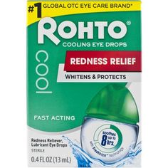 Free 2-day shipping on qualified orders over $35. Buy Rohto V Redness Reliever Eye Drops at Walmart.com