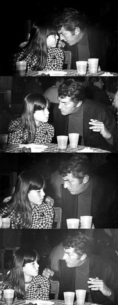 "Dean with his daughter Gina. Does anybody think this is remarkably similar to a certain scene in the Film ""Jersey Boys""?"
