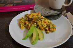 Huevos con nopales #mexicanfood #breakfast