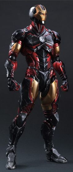 Iron Man Marvel Comics Variant Play Arts Kai Action Figure Square Enix in Stock for sale online Marvel Dc Comics, Bd Comics, Marvel Heroes, Marvel Avengers, Punisher Marvel, Poster Superman, Posters Batman, Batman Vs, Iron Man Suit