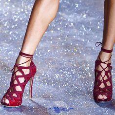 Nicholas Kirkwood pink shoes 2012 @ Victorias Secret Fashion Show