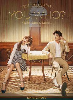 Somi with eric nam Korean Drama Romance, Korean Drama Funny, Korean Drama List, Watch Korean Drama, Korean Drama Movies, Korean Actors, Drama Film, Drama Series, Popular Korean Drama