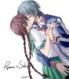 ryoma kun   Tumblr Romantic Anime Couples, Cute Anime Couples, Couples In Love, Prince Of Tennis Anime, Aries Aesthetic, Romance, Anime Princess, Couple Cartoon, Image Manga